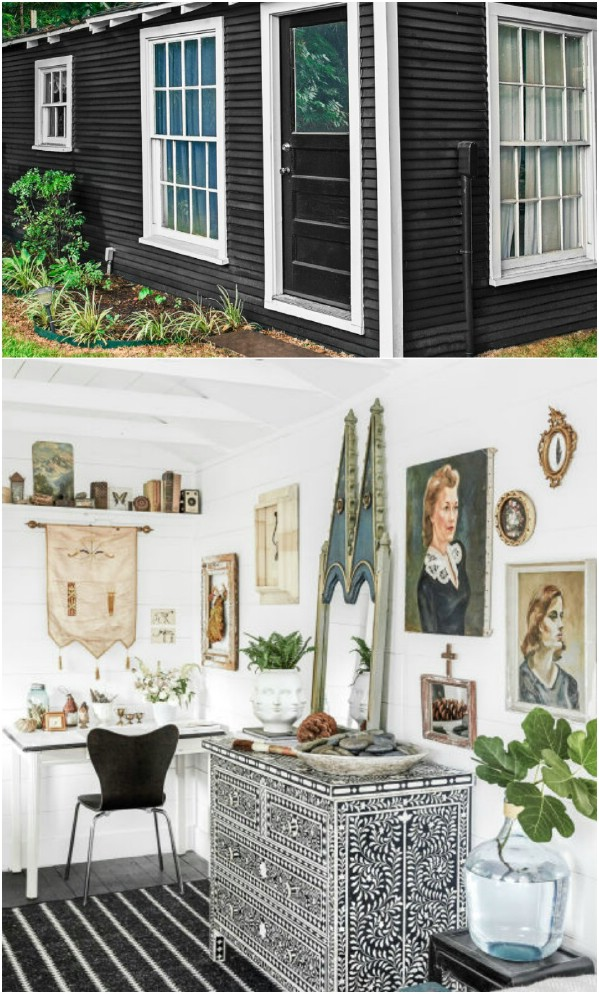 Paige Morse's Backyard Shed Guesthouse - Κορυφαία 80 πανέμορφα άνετα που στεγάζει και κατώφλι οικόπεδα
