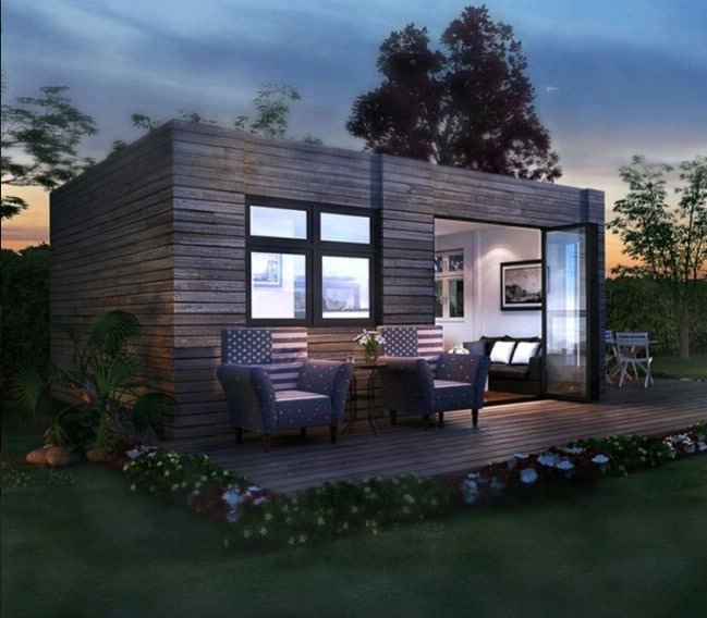 Alabama Tiny House Company Designs Modern and Refined Container Home