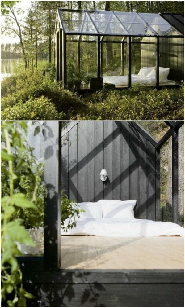 Φαίνεται πάρα πολύ όμορφη για να υπάρχει ... Αλλά το κάνει - Top 80 Gorgeously Άνετα Φέρνει και Thiny Σπίτια Backyard