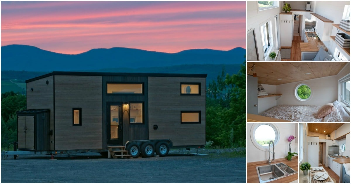 The modern and spacious acacia tiny house by minimaliste for Minimaliste houses