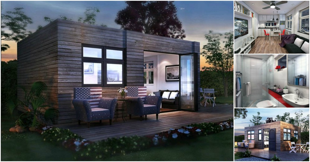 Alabama tiny house company designs modern and refined for Home builders alabama