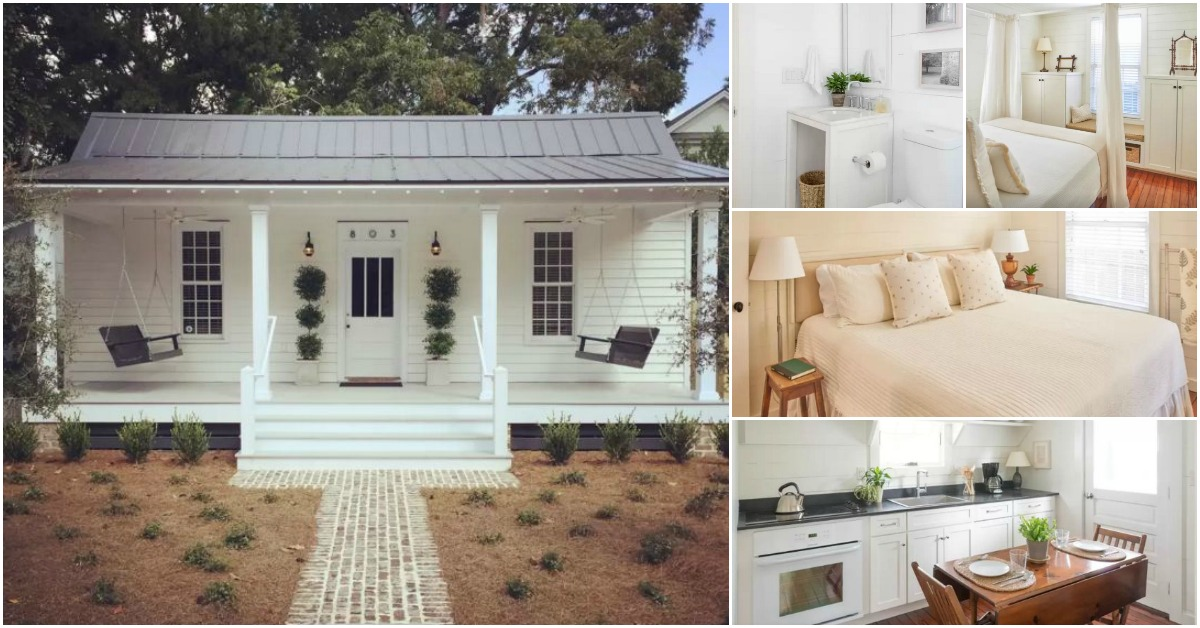 Tiny Home Designs: Stay In This Charming Historic Cottage In Beaufort, South