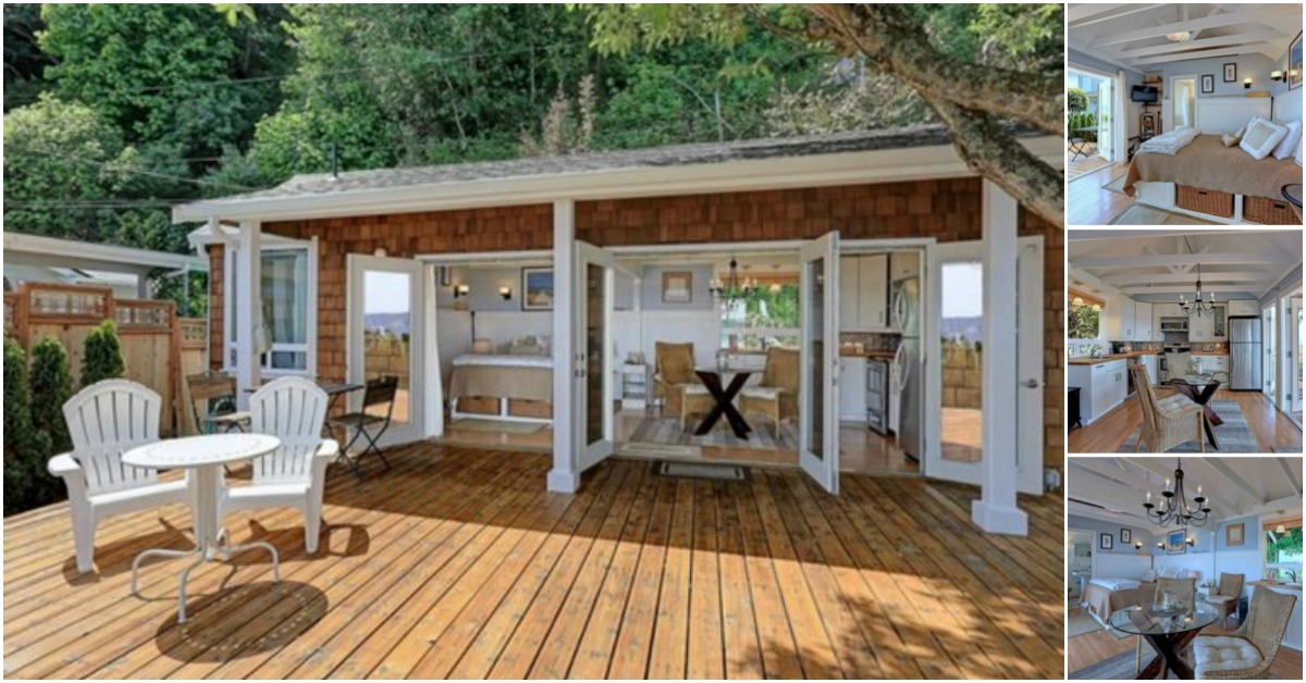 Tiny Beach Home Designs: Picture-Perfect 330SF Tiny House On Camano Island Has Us