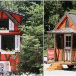 250 Square Foot Rudolf Rental at Leavenworth Tiny House Village