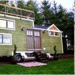 Immaculate 220 Square Foot Tiny Craftsman with Rooftop Deck by Tiny Heirlooms