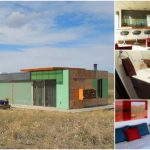 700 Square Foot Home Made out of Shipping Containers in the Middle of Scenic Montana