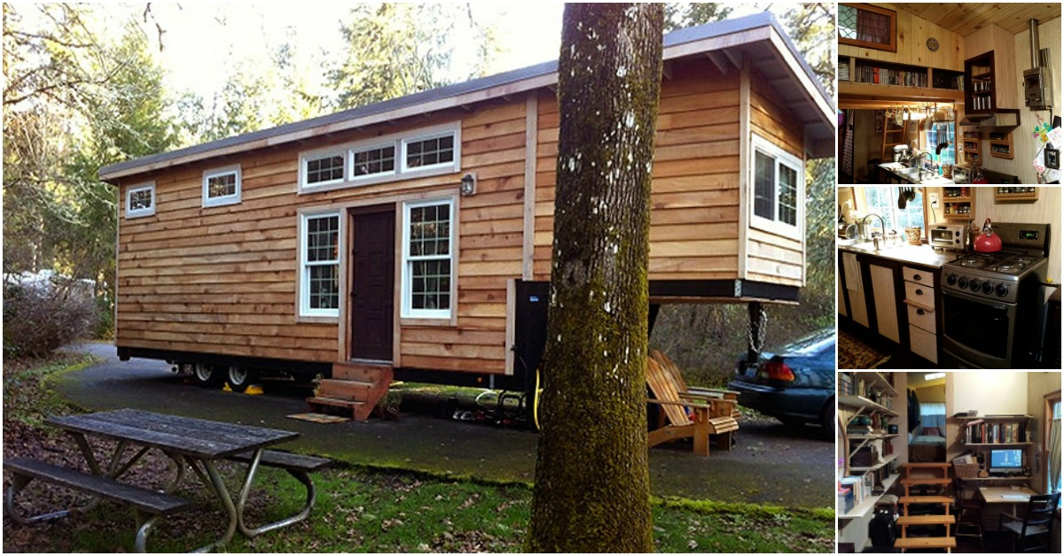 The willamette farmhouse with double loft by tiny smart for Smarter small homes