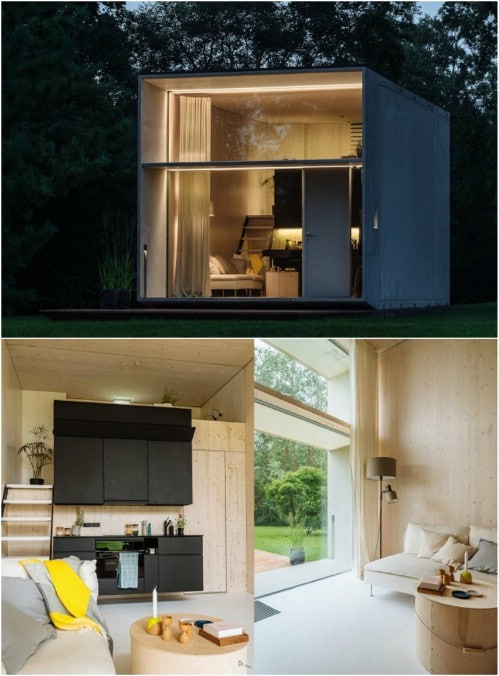 KODA: The Movable Concrete Tiny House