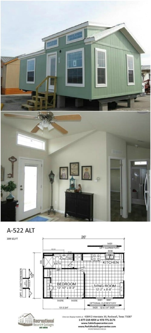 A-522 by Recreational Resort Cottages and Cabins