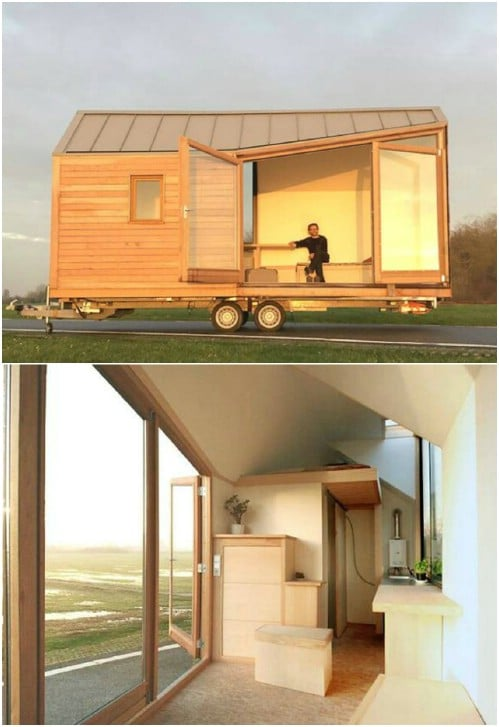 Here Is a Dutch Tiny House Which Is Flooded With Light