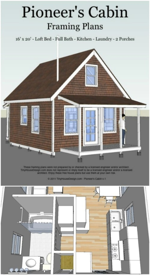 17 Do it Yourself Tiny Houses with Free or Low Cost Plans ... Tiny House Wheels Plans Free Printable on free printable shed plans, free printable tree house plans, free printable paper dolls, free printable garage plans, free printable cabin plans, free printable home, free printable greenhouse plans,