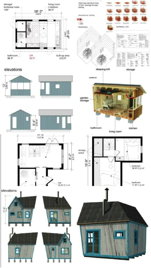 Pin-Up Houses: 25 Low-Cost Plans!