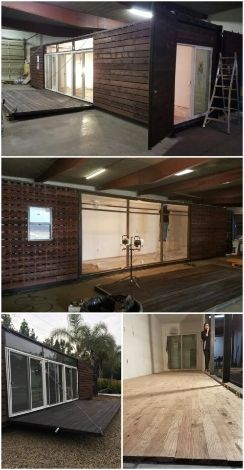20 Foot Portable Folding Container House: $8,000