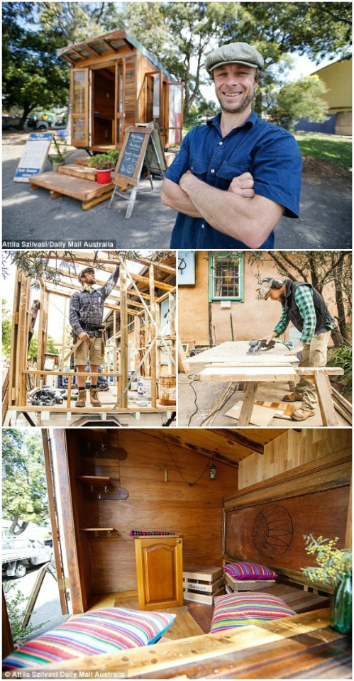 James Galletly's Tiny House: $10,000-$15,000