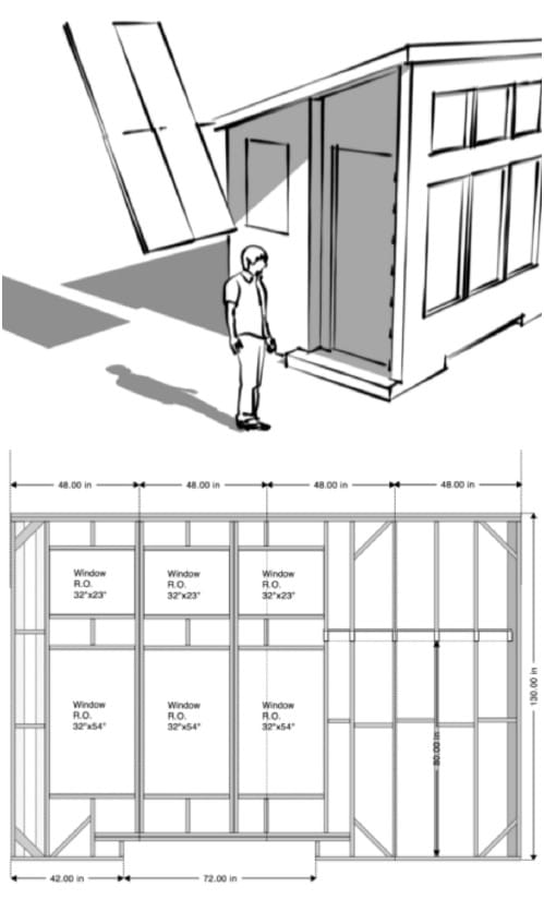 8x16 Tiny Solar House