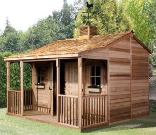 Ranch House Storage Shed: $4,773