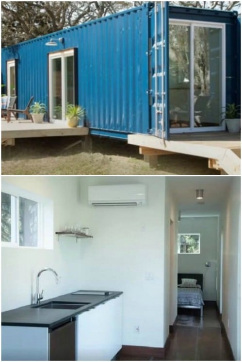 It Started As a Shipping Container … Now It Is a Beautiful Modern House.
