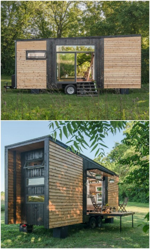 Look Right Through the Alpha Tiny House To The Other Side