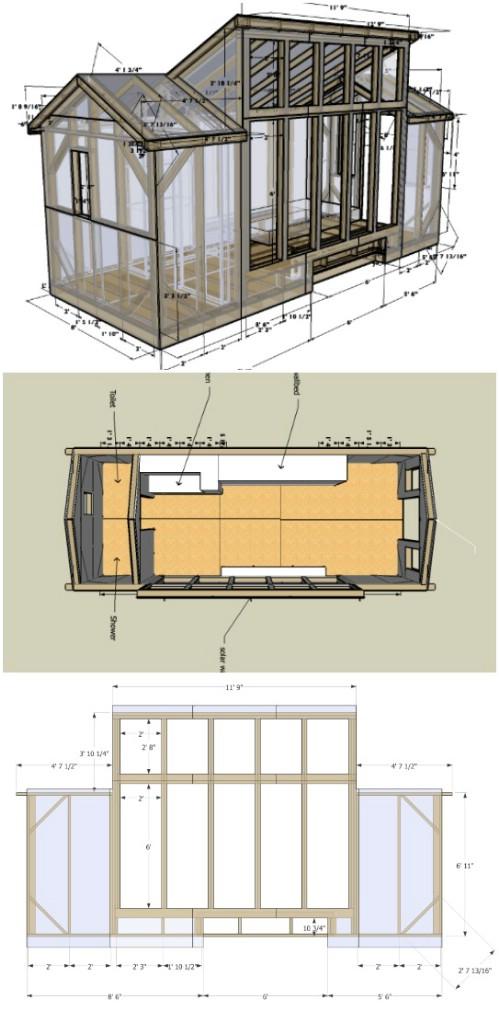 8x20 Solar House