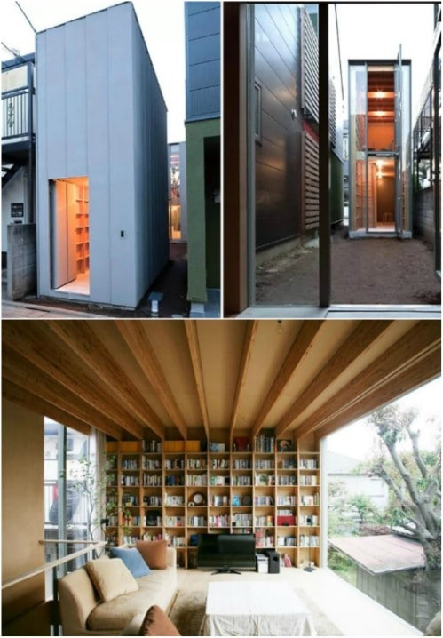 Here Is Another Genius Japanese Design in a Narrow Lot