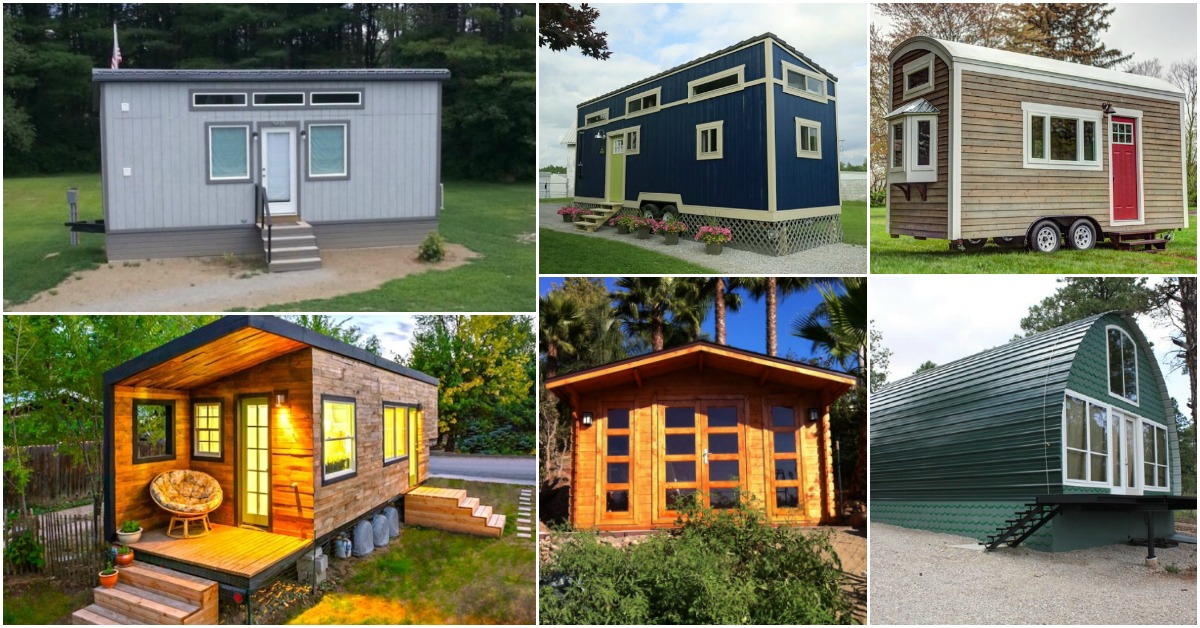 35 frugal tiny houses you can build or buy on a budget for Tiny house to buy