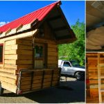 This Rustic Tiny Dream Cabin Fits on a 8×12 Single Axle Trailer