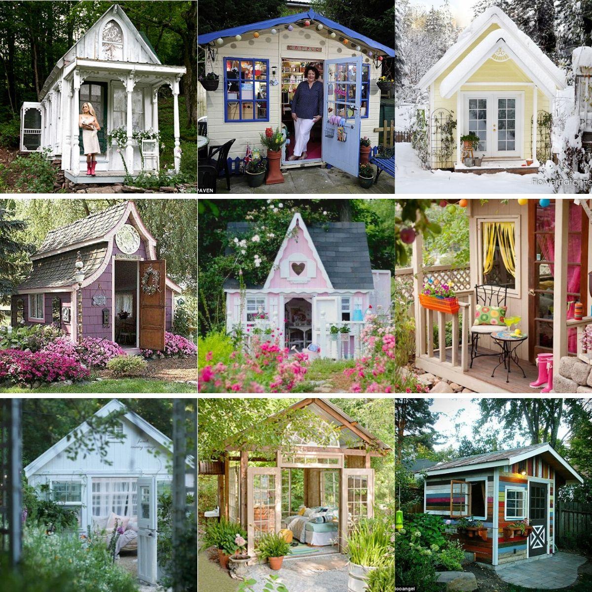 Top 80 Gorgeously Comfortable She Sheds and Backyard Tiny Houses - Tiny  Houses
