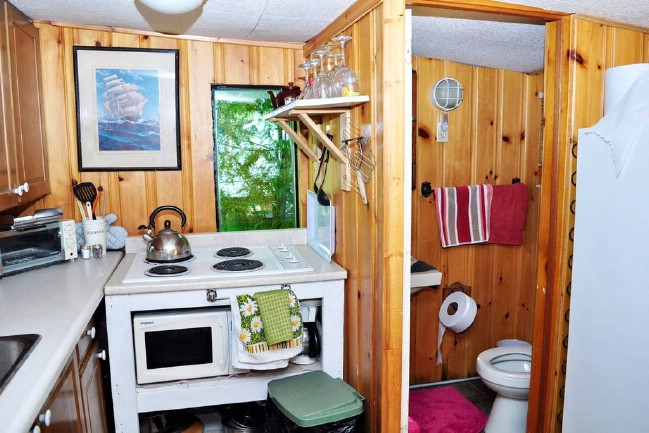 Stay in an Adorable Little Beach House With Plenty of Tiny House Charm