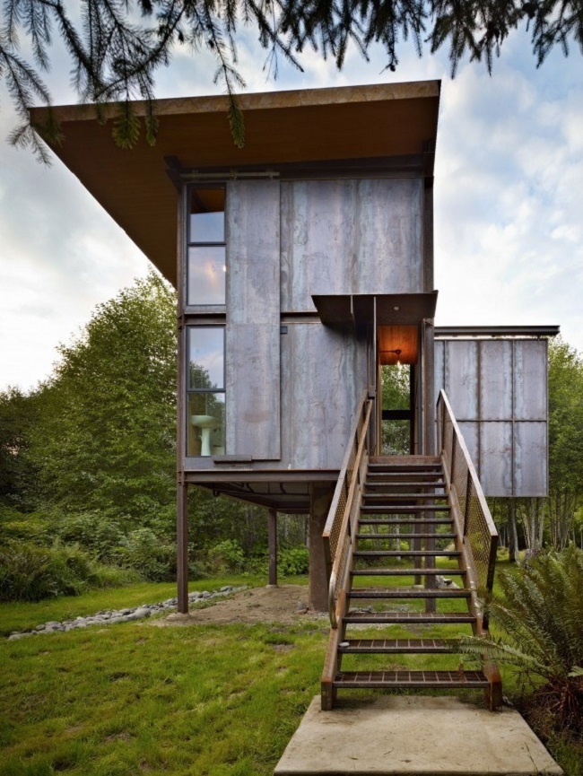 The Sol Duc Cabin Is 350 Square Feet Of Sheer Modern Genius