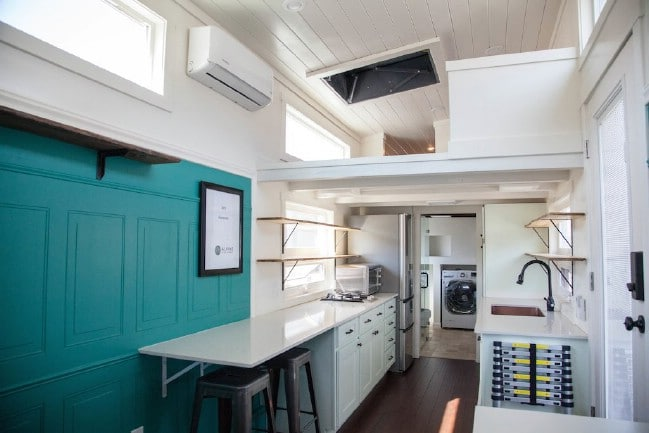 "Gorgeously Rustic Tiny House: The Incredible ""Animal"" by Alpine Tiny Homes"