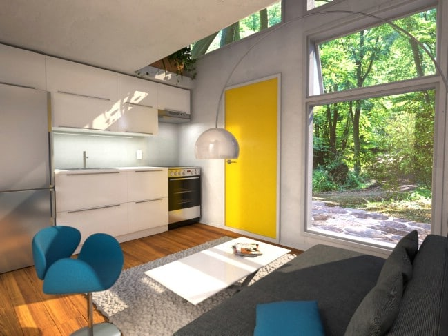 The Nomad Cube Is 12.5′ X 12.5′ Of Genius Space-Savvy Design