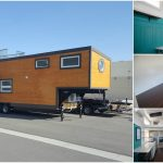 """Gorgeously Rustic Tiny House: The Incredible """"Animal"""" by Alpine Tiny Homes"""