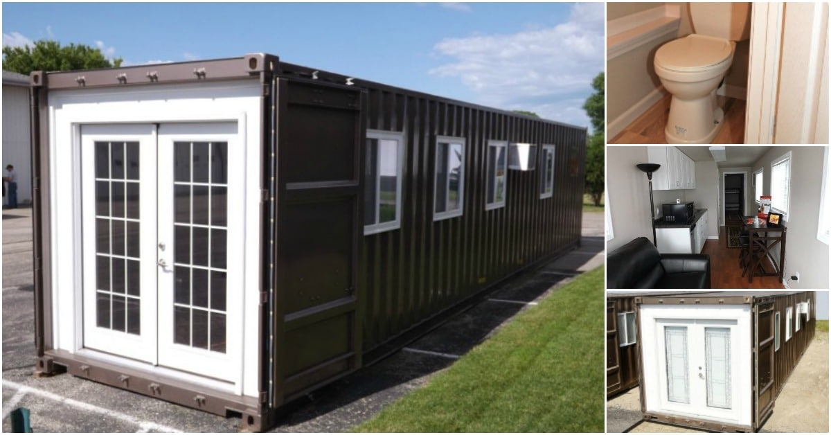 You Can Now Purchase This 320 Square Foot Prefabricated