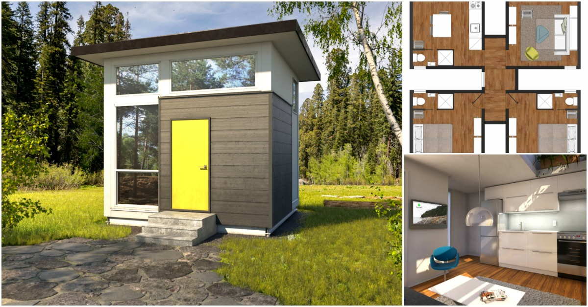 Nomad Tiny Homes >> The Nomad Cube Is 12 5 X 12 5 Of Genius Space Savvy Design Tiny
