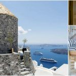 The Damia Windmill Is a Luxury Tiny Hotel in Santorini