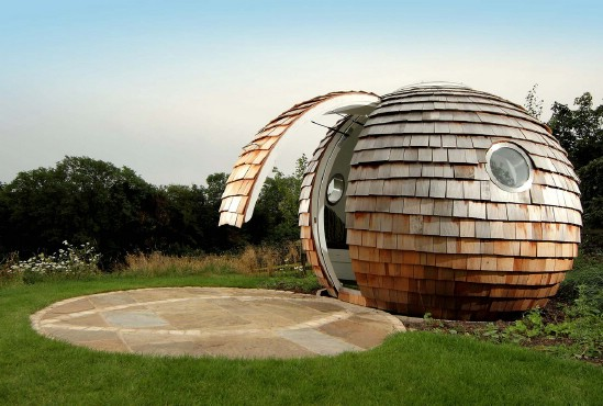 The Archipod Is a Tiny Backyard Space Brimming With Possibilities