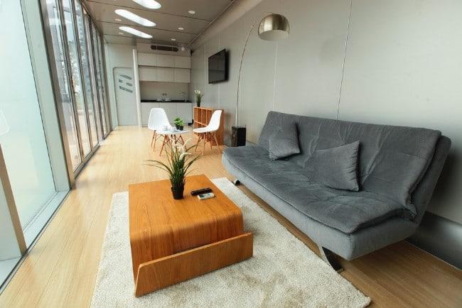 The AlPod Mobile Home Is a Unique Stackable Modular Design