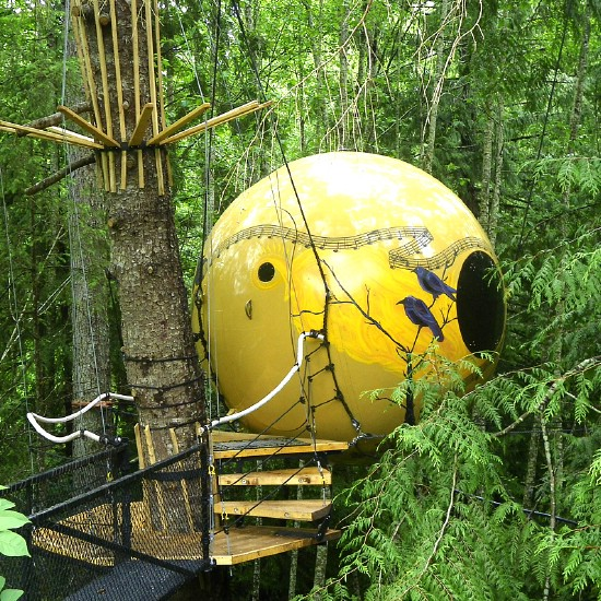 Free Spirit Spheres Tree Houses