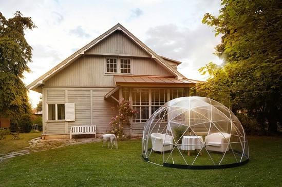 The Garden Igloo Is an Elegant Backyard Getaway