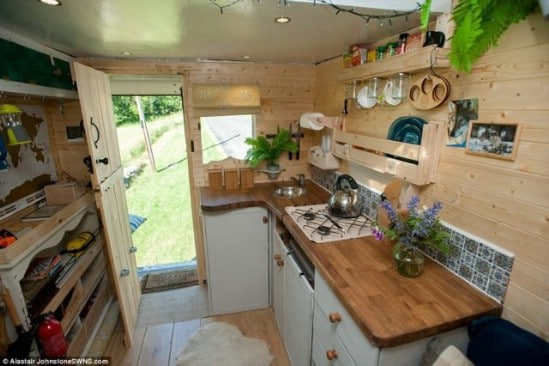 This Stunning Tiny House Started Life As An Ordinary Van