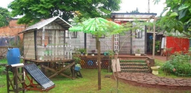 La Casa de Botellas Is a Tiny House Made of … Plastic Bottles