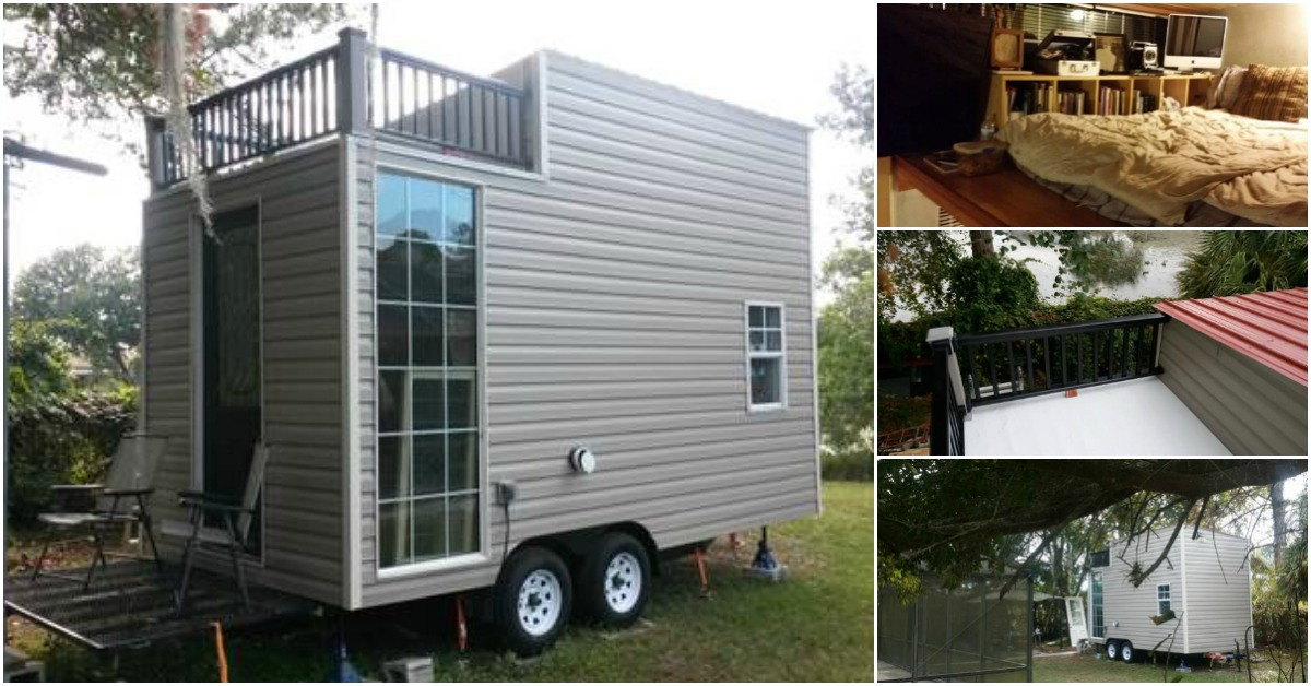 This Tiny House In Kissimmee Fl Measures Just 170 Square