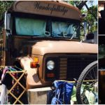 """""""Wanderfullodge,"""" A Tiny Converted School Bus You can Buy for $10,000"""