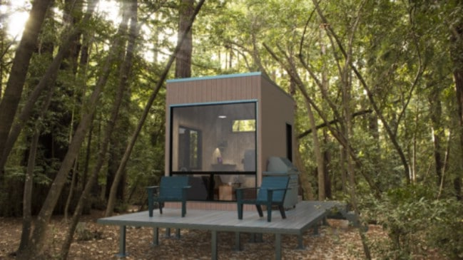 The Adirondack is a Minimalist Tiny House Measuring Just 12.5' x 8.5'