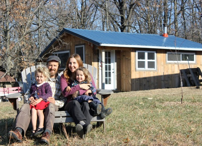 Brian and Teri's Off-The-Grid Tiny House Is Every Homesteader's Dream Come True