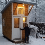 13-Year-Old Boy Builds His Own Tiny House in Iowa