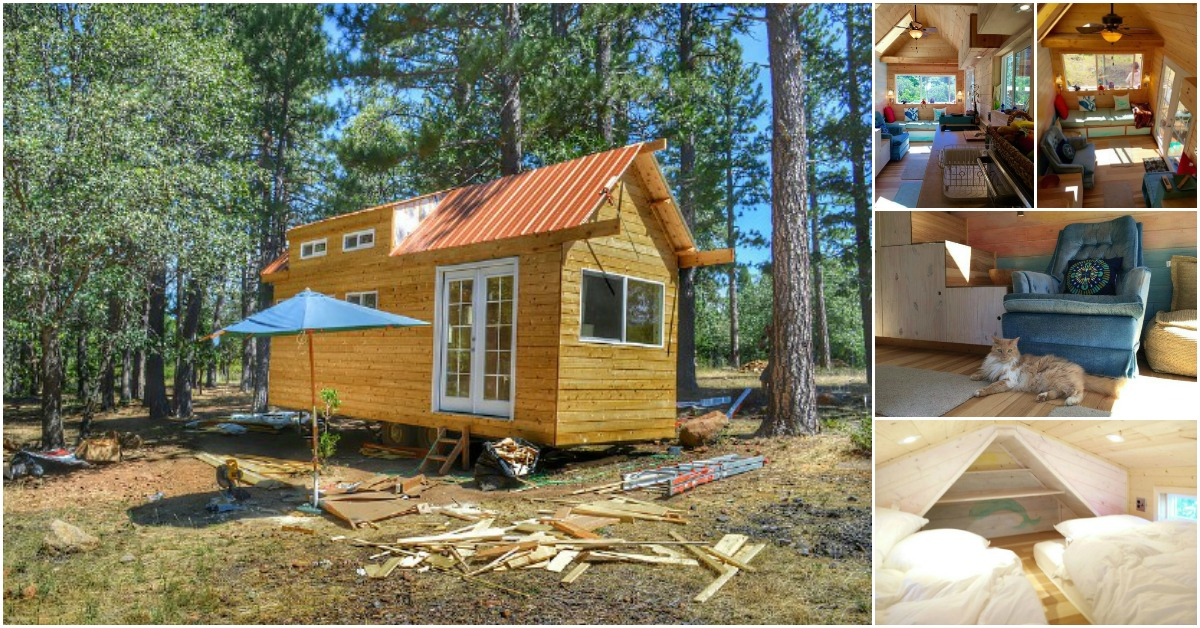 the california tiny house was built in just two months tiny houses. Black Bedroom Furniture Sets. Home Design Ideas