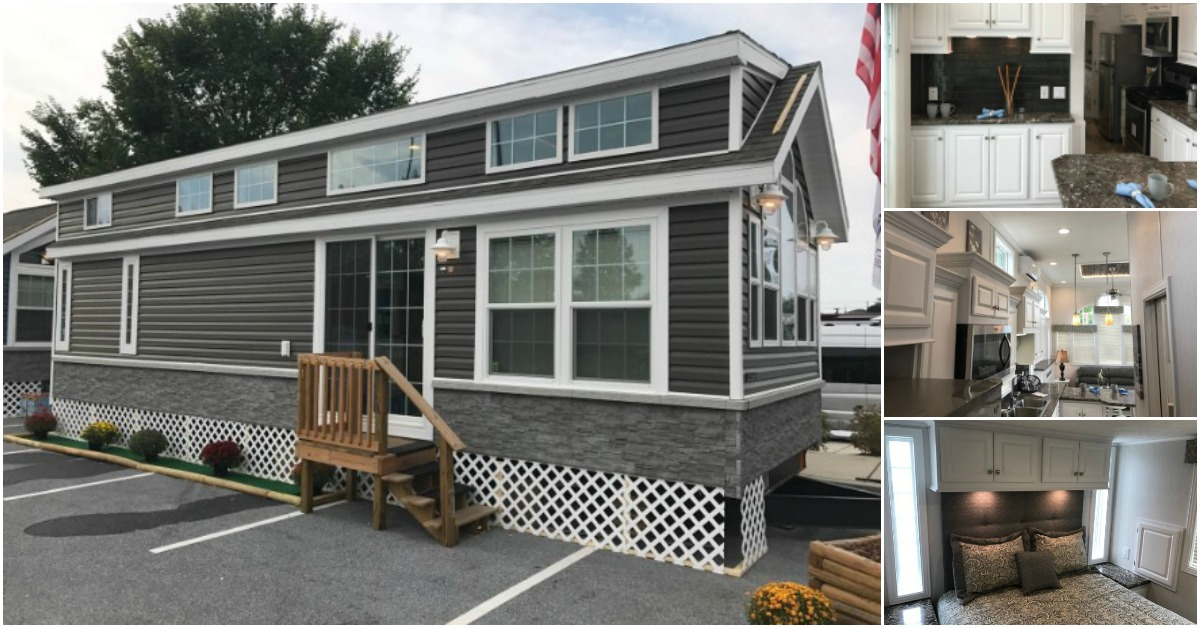 Luxurious Tiny House Built For A King At Park Model Homes Tiny Houses