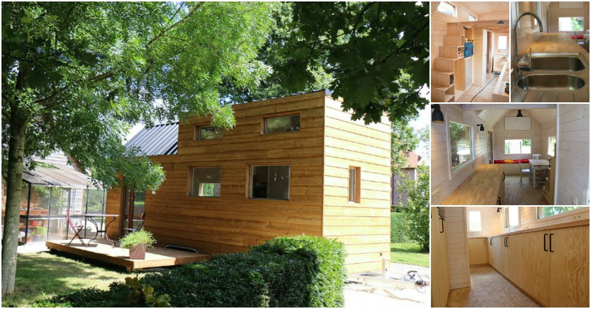the refugee tiny house is a sustainable solution from tiny house belgium tiny houses. Black Bedroom Furniture Sets. Home Design Ideas