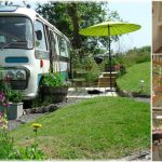 Stay in a Tiny Converted Panoramic Bus in Lovely Herefordshire
